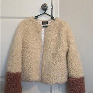 Top Shop fur jacket